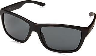 نظارة شمسية ساجي اي ار N9P 61 من سميث للرجال، بني (مات هافانا/غري بلو)