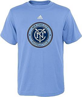 adidas New York City Football Club Youth Blue Primary Logo T-Shirt