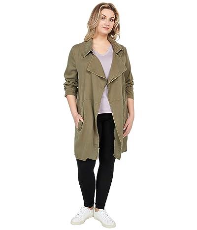 tentree Echo Lightweight Jacket (Olive Night Green) Women