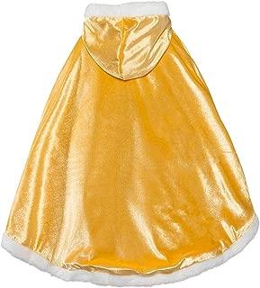 iLOOSKR Christmas Princess Cloak Cape Toddler Kids Performance Wear Children's Party Wear Coat