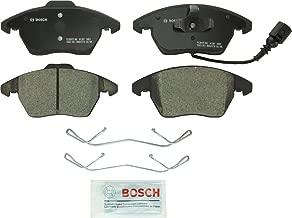 Bosch BC1107 QuietCast Premium Ceramic Disc Brake Pad Set For: Audi A3, A3 Quattro, TT, TT Quattro; Volkswagen Beetle, Bora, CC, Eos, Golf, Golf SportWagen, GTI, Jetta, Passat, Passat CC, Front