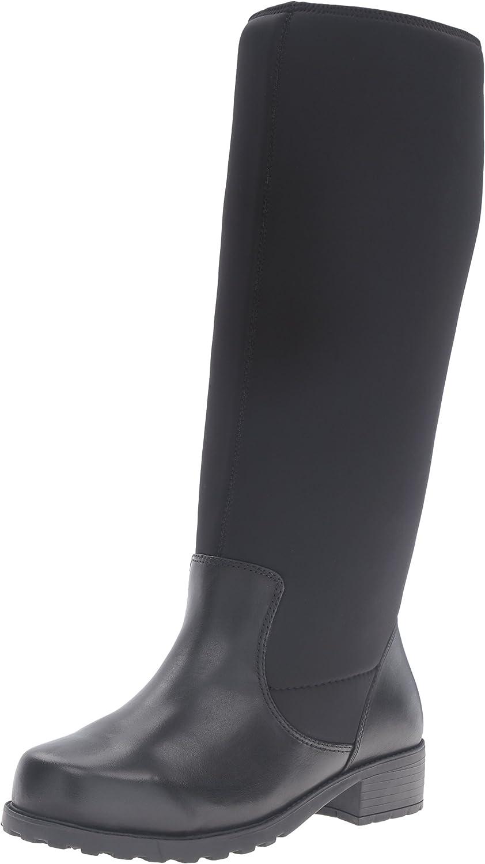 SoftWalk Womens Biloxi Wide Calf Boot
