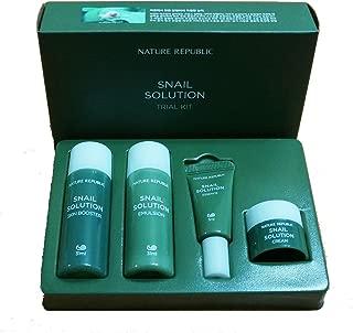 Nature Republic Snail Solution Trial Kit (4 items) Basic Skin Care Travel Kit