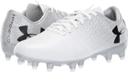 White/Metallic Silver/Black