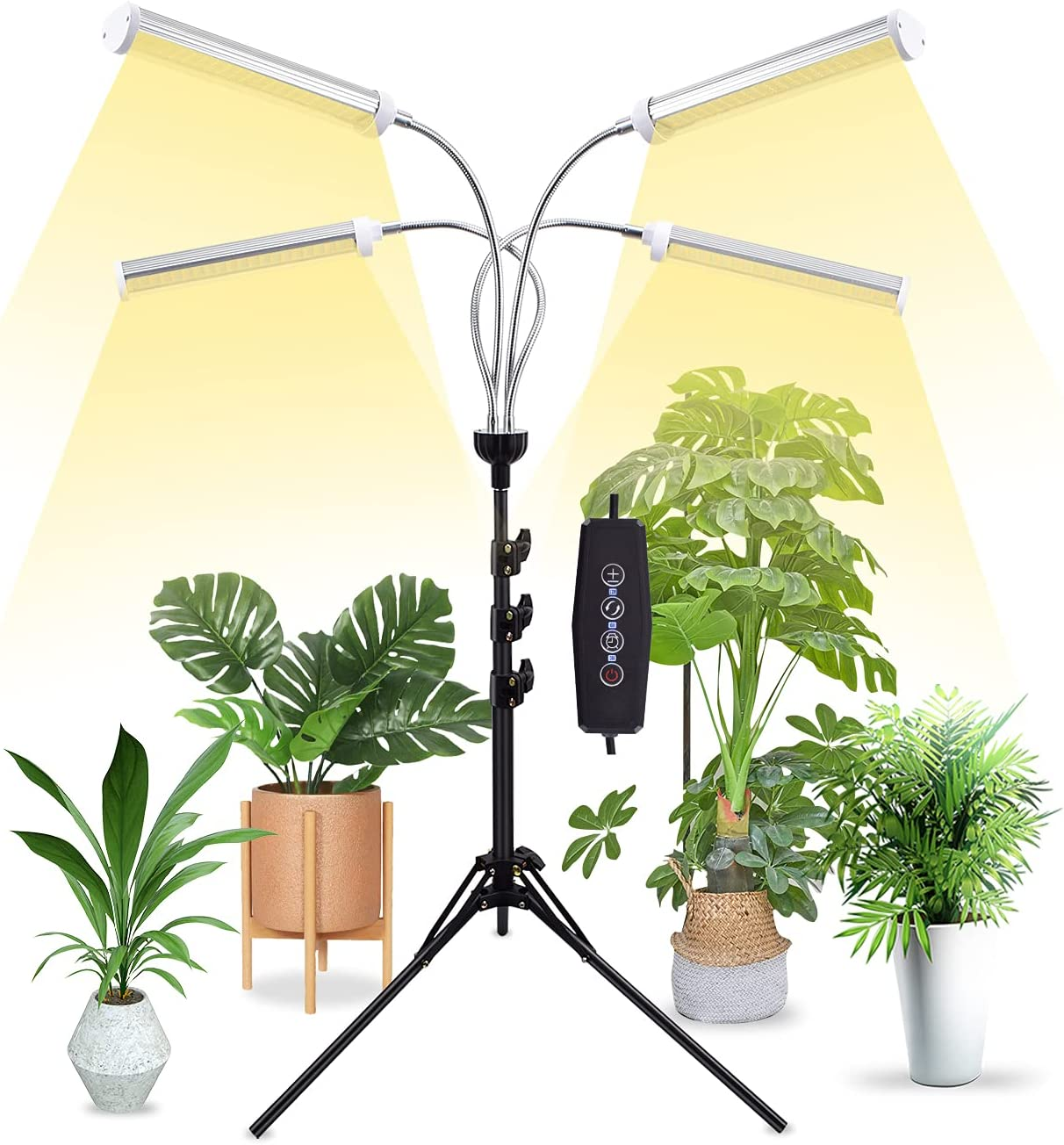 Grow Lights for Indoor ※ラッピング ※ 格安 Plants Extendable Full with 58