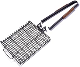 Charcoal Companion Ultimate Rectangular-Shaped Nonstick Grilling Basket