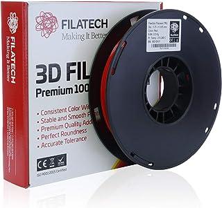 Filatech TPU Filament, Lumin. Red, 1.75mm, 0.5 kg, Made in UAE