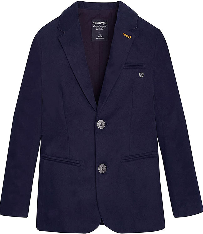 Mayoral Junior Boy's Formal Blazer Navy, Sizes 8-16