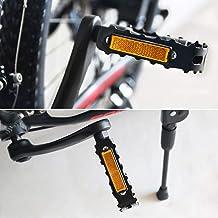 2pcs Bike Foot Pedal Universal Bicycle Reflector Cycle Cycling Reflectors~