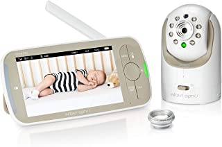 "Infant Optics DXR-8 PRO Baby Monitor with 5"" Screen, HD (720P) Resolution, and ANR"