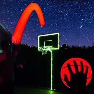 GlowCity Light Up Basketball Hoop Kit with LED Basketball