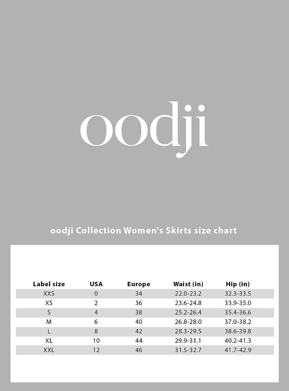 oodji Collection Women's Flowing Midi Skirt