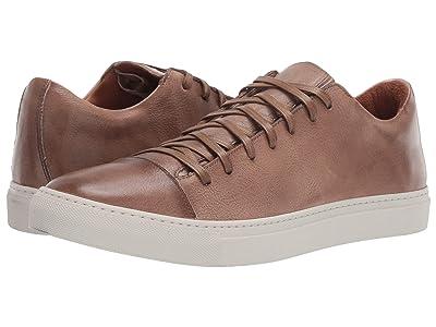 John Varvatos Collection Reed Low Top Sneaker (Wood Brown) Men