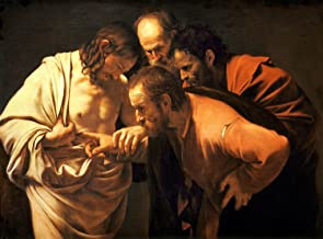 Paintings Poster - The Incredulity of Saint Thomas (1602) by Caravaggio 11