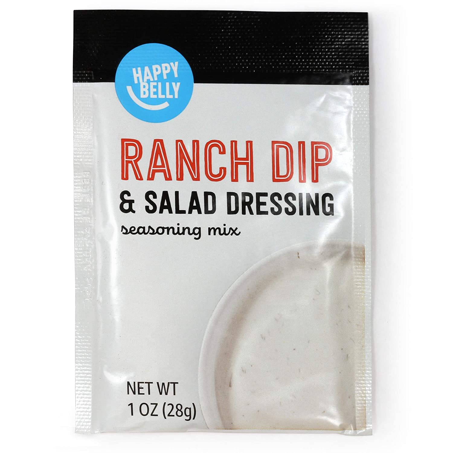 Amazon Brand - Happy Belly Ranch Dip Mix, 1 Ounce