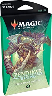 Magic: The Gathering Zendikar Rising Theme Booster - Green