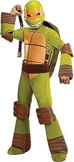 Teenage Mutant Ninja Turtles Deluxe Michelangelo Costume, Large