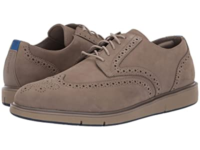 SWIMS Motion Wing Tip Oxford (Timber Wolf/Navy) Men