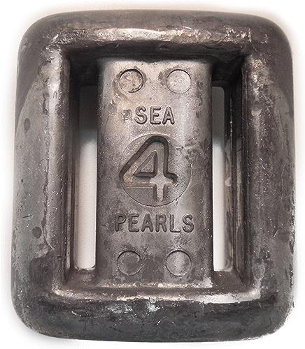 Mer Perles en Dentelle Brut Thru Style Rigide Poids