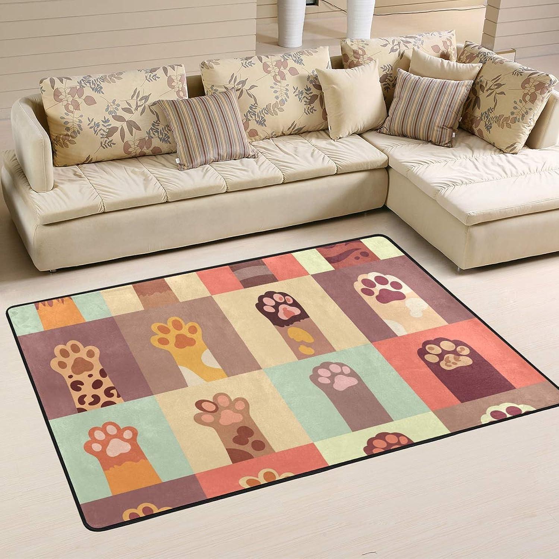 FAJRO Cats Paw Set mud shoes Scraper Area Rug Entry Way Doormat Multipattern Floor Mats Home Dec Anti-Slip Indoor Outdoor