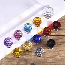 1 pcs Crystal Kast Knoppen en Handgrepen Kleurrijke Crystal Dresser Lade Knoppen Keuken Handgrepen Meubels Handvat Hardwar...