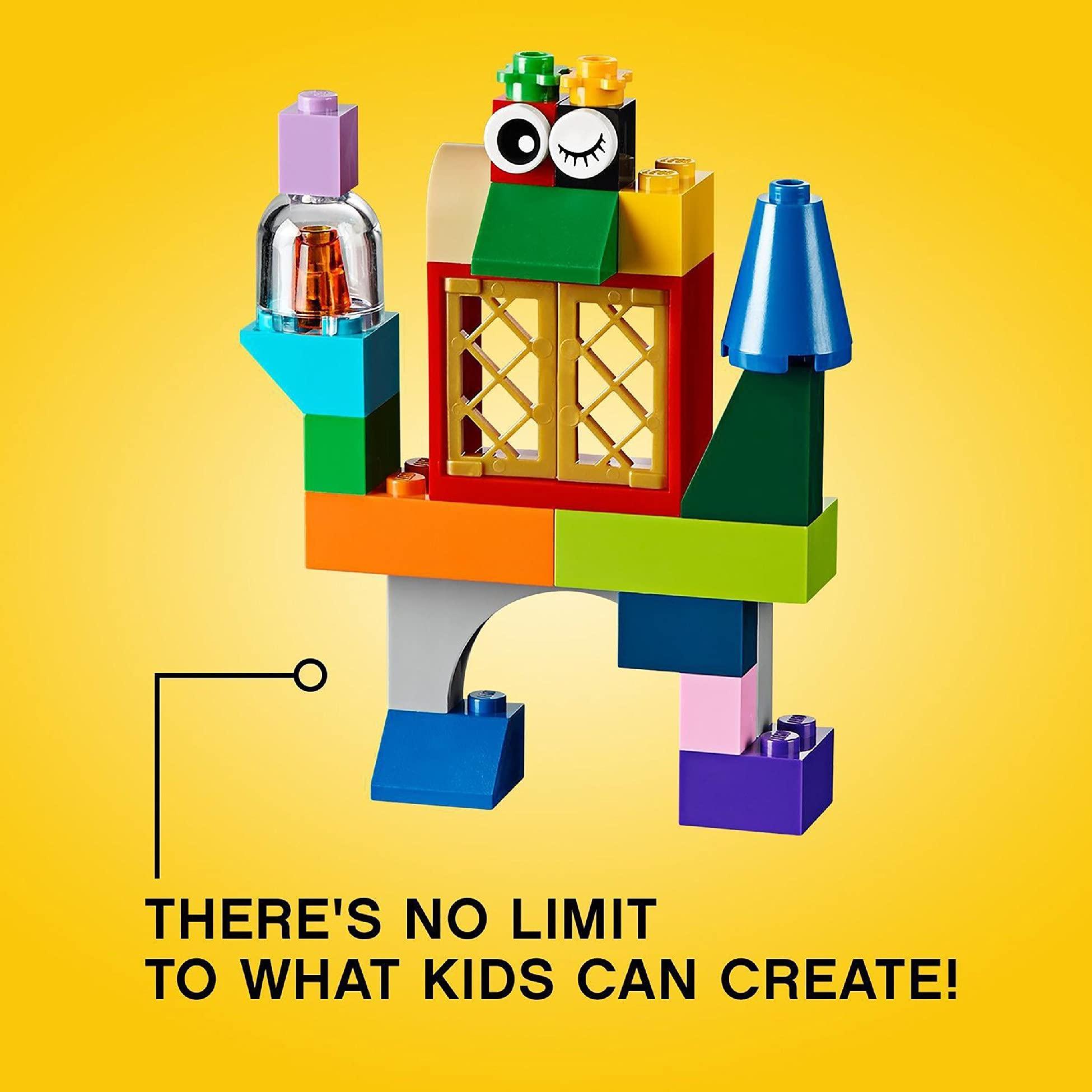 LEGO10698ClassicLargeCreativeBrickBoxConstructionSet,ToyStorage,FunColourfulToyBricksforLEGOMasters