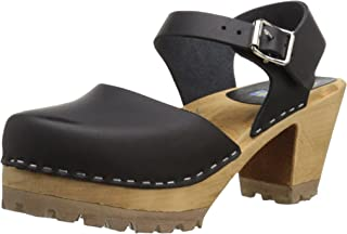 abba clogs black