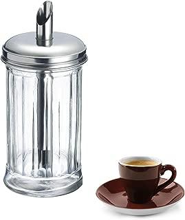 Westmark Germany 'New York' Glass Sugar Dispenser, Stainless Steel