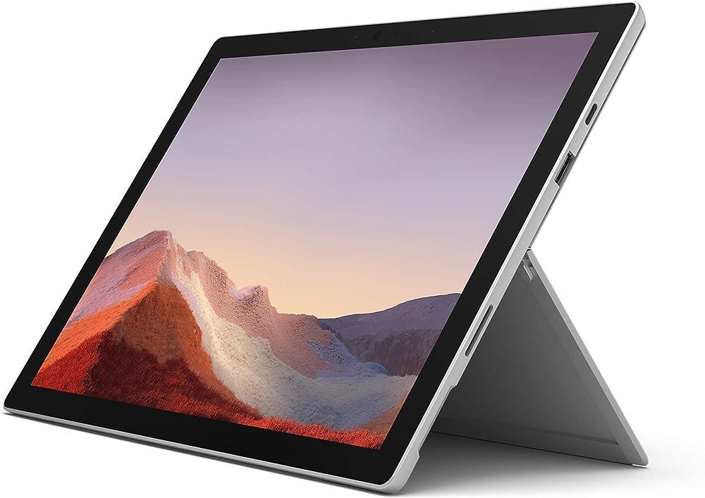 Microsoft surface pro 7 core i7 ram 16 gb ssd 256 gb platinum VNX-00003