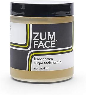 Zum Face Sugar Facial Scrub - Lemongrass - 4 oz