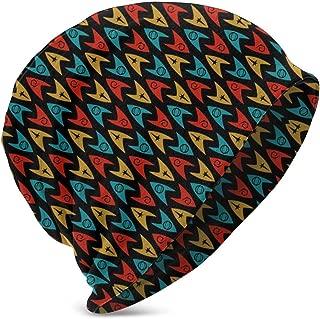 Kid's Winter Hat Knit Beanie - Star Trek TOS Insignias Blue