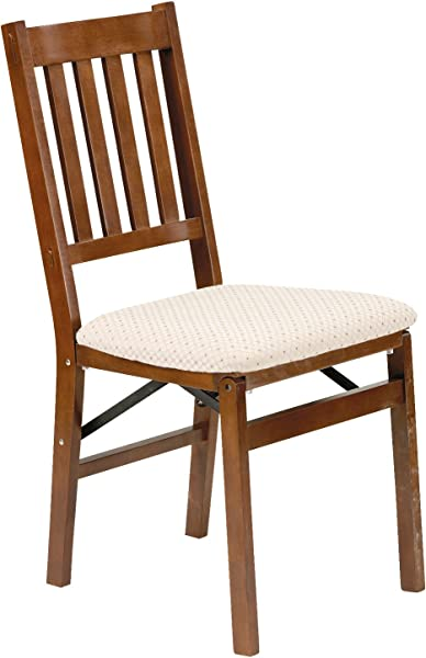 Stakmore Arts And Craft Folding Chair Finish Set Of 2 Fruitwood