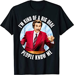 Ron Burgundy I'm Kind of a Big Deal T-Shirt