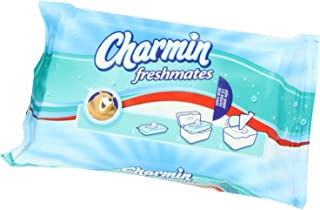 Charmin Freshmates Refills, Double Pack, 40x2=80 Wipes (Pack of 3)