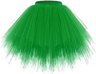 Women's Tutu Halloween Tulle Skirt 50s Vintage Ballet...