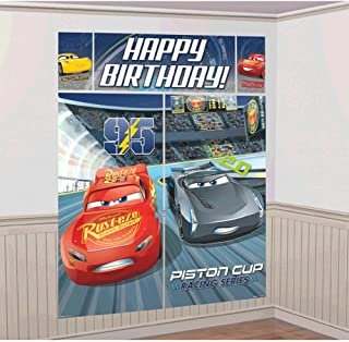 Cars 3 Scene Setter Wall Decorations Kit