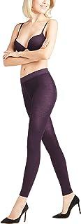 FALKE Leggings Softmerino Baumwolle Schurwolle Damen schwarz blau viele weitere Farben Damenleggings blickdicht ohne Muster eng dick und undurchsichtig zum Rock oder Kleid 1 Stück