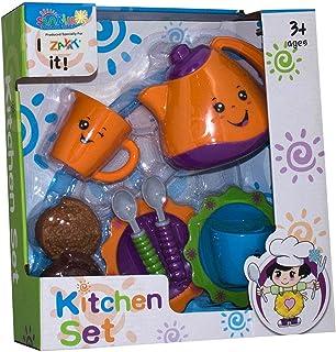 لعبة المطبخ للاطفال من صنمر تويز - 10 قطع