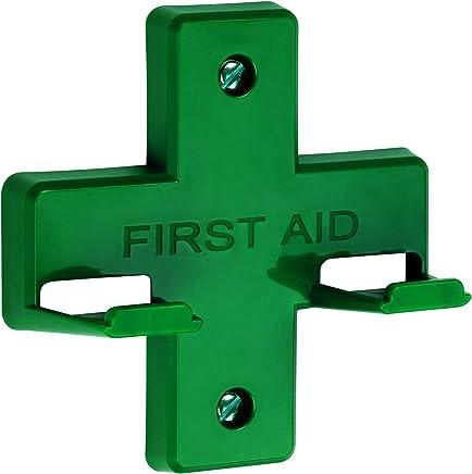 St John Ambulance Green Wall Bracket for Alpha First Aid Kit