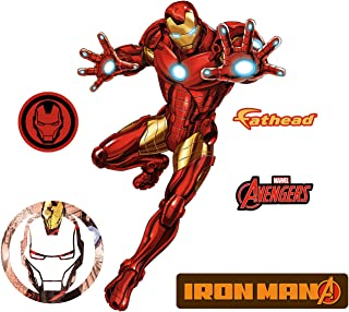 FATHEAD Iron Man-X-Large Officially Licensed Marvel Removable Wall Decal