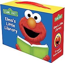 Elmo's Little Library (Sesame Street): Elmo's Mother Goose; Elmo's Tricky Tongue Twisters; Elmo Says; Elmo's ABC Book