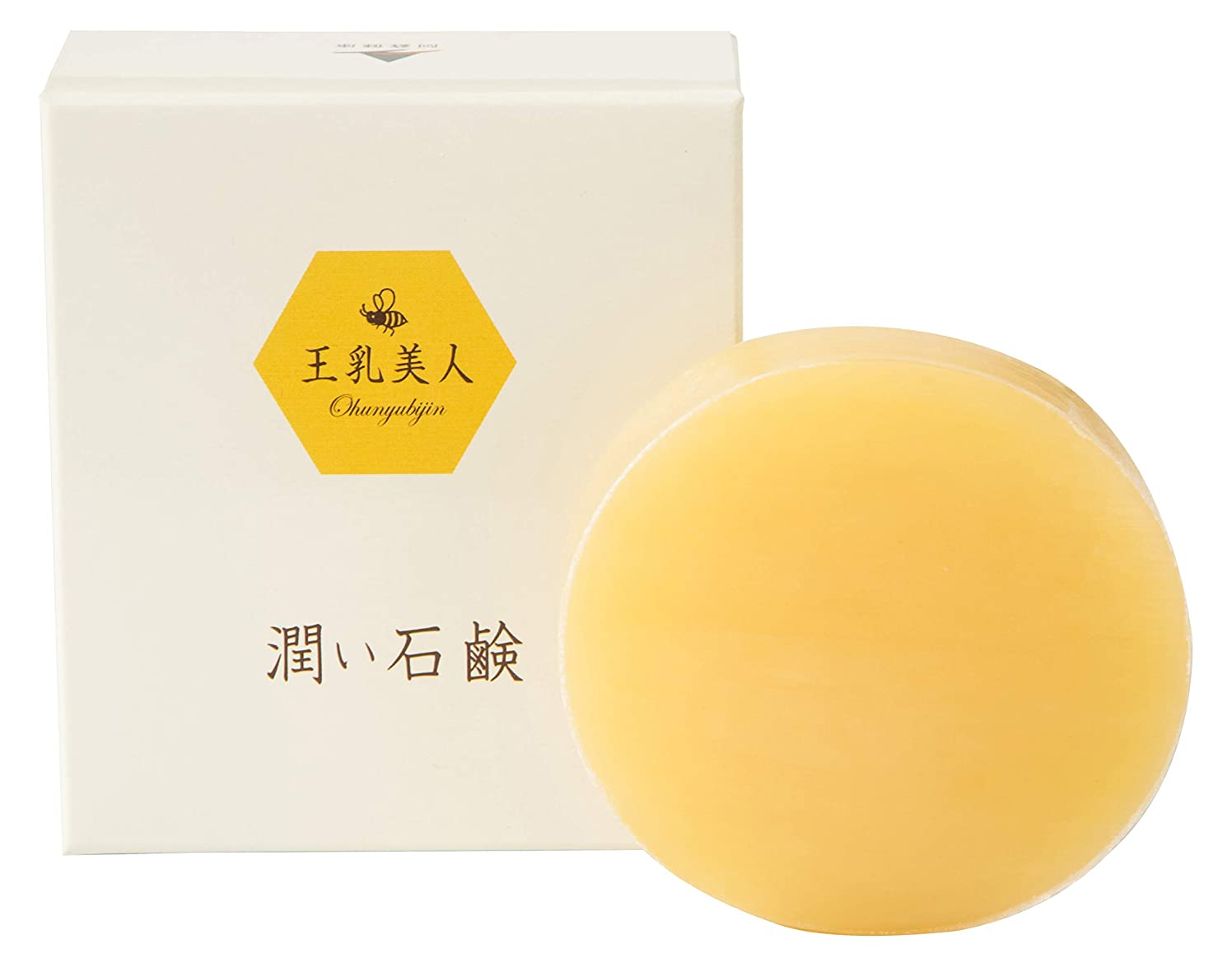 値ヒューズ煙王乳美人 潤い石鹸 100g 熊本産の馬油を使用