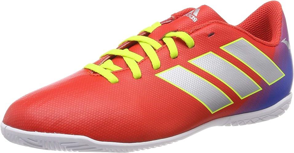Adidas Nemeziz Messi 18.4 in J, Chaussures de Football Garçon