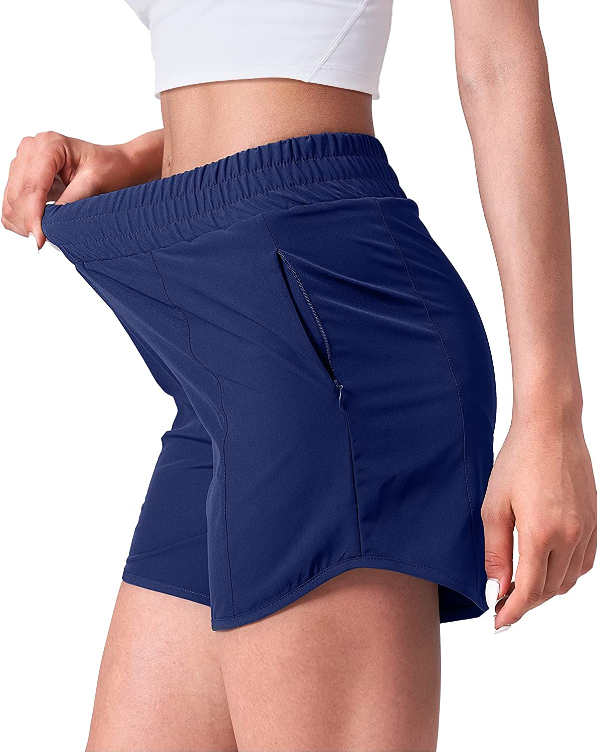 Inventory cleanup Popular brand in the world selling sale CELER Women's Running Shorts Quick Workout Phone Dry with