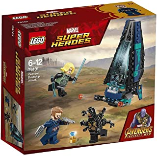 LEGO MARVEL SUPER HEROES Avengers: Infinity War Outrider Dropship Attack 76101