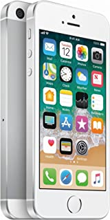 Điện thoại di động Apple – Apple iPhone SE, 64GB, Silver – For AT&T / T-Mobile (Renewed)