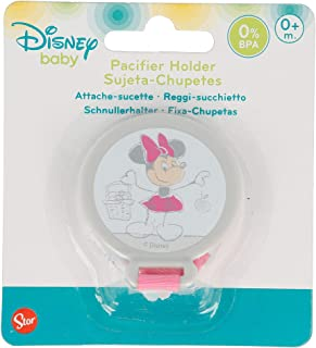 Amazon.es: Minnie Mouse - Cadenas para chupetes / Chupetes y ...