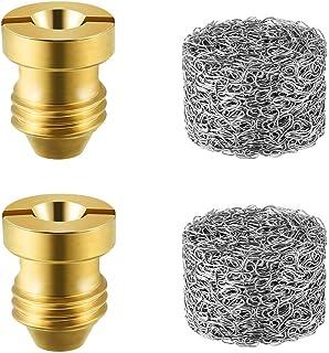 GaiGaiMall Foam Cannon Orifice 1.1 mm Nozzle Tips and Foam Maker for Snow Foam Lance, 2 Set