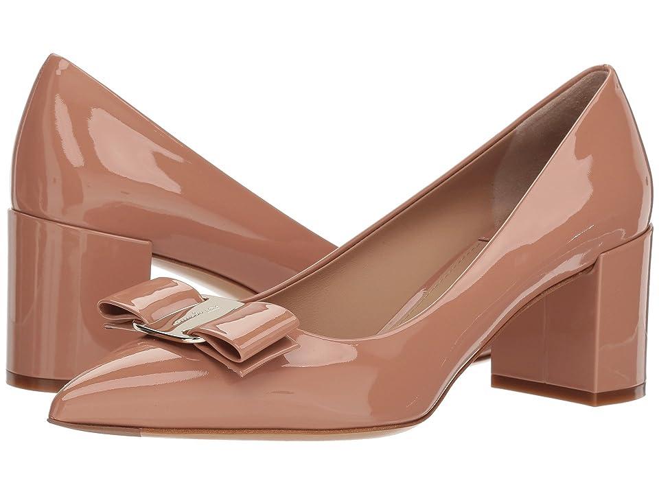 Salvatore Ferragamo Alice 55 (New Blush) High Heels