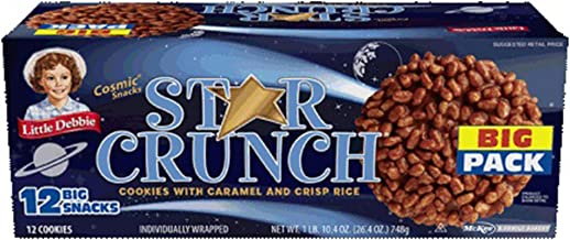 Little Debbie Big Packs 2 Boxes of Snack Cakes & Pastries (Star Crunch)